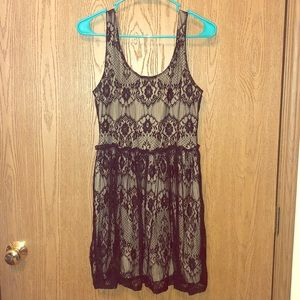 🖤Black& Tan Lace Dress🖤